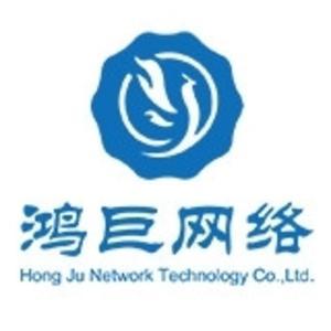 鴻巨網絡 logo